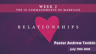Mildura Church of Christ | Relationships | 10 Commandments of Marriage