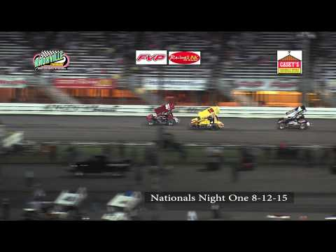 Knoxville Raceway 8-12-15 Nationals Night One