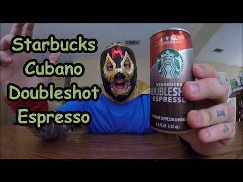 Starbucks Cubano Doubleshot Espresso