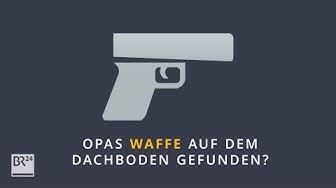 Welche Strafen drohen bei illegalem Waffenbesitz? #fragBR24💡   BR24