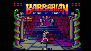 "BARBARIAN (AMSTRAD CPC - ""THE REAL""  FULL GAME)"
