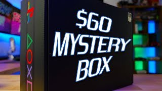 I Dropped $60 On This PLAYSTATION BOX – DID I JUST WASTE MY MONEY?! | UNBOXING THE MYSTERY PS BOX |