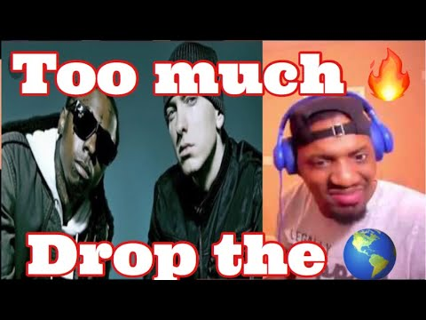 I never realized Em verse was so fire! | Lil Wayne - Drop The World ft. Eminem | REACTION