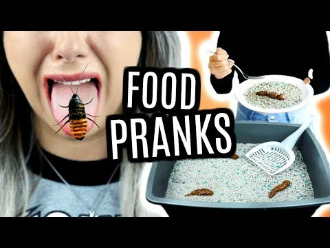 FOOD PRANKS // ÉDITION D'HALLOWEEN