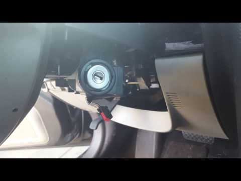 How to replace the ignition switch Immobilizer Module on a lincoln mkz zephyr and fusion