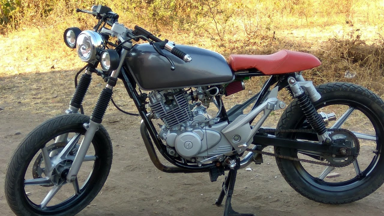 This Is How You Can Convert Ordinary Motorcycle To Vintage Cafe Racer