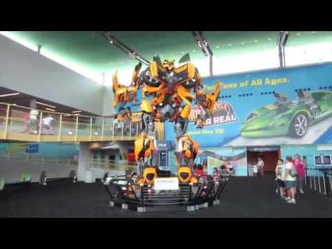 BUMBLEBEE, HOT WHEELS, AND DINOSAURS, OH MY! | INDIANAPOLIS CHILDRENS MUSEUM