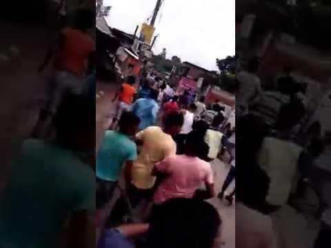 BaduriA riot .attack on innocent hind .bashirhat .West Bengal