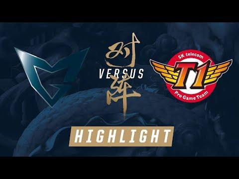 SSG vs. SKT Worlds Finals Match Highlights 2017