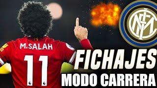 ¡¡MERCADO DE FICHAJES!! ¿SE VIENE SALAH? | FIFA 18 Modo Carrera ''Manager'' Inter de Milán - EP 4