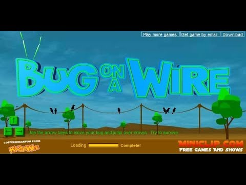 bug on a wire free game