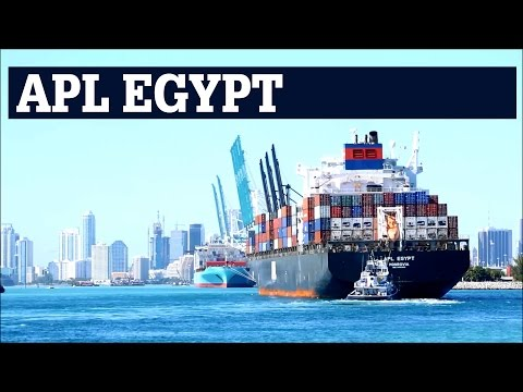APL EGYPT | Contianer Ship