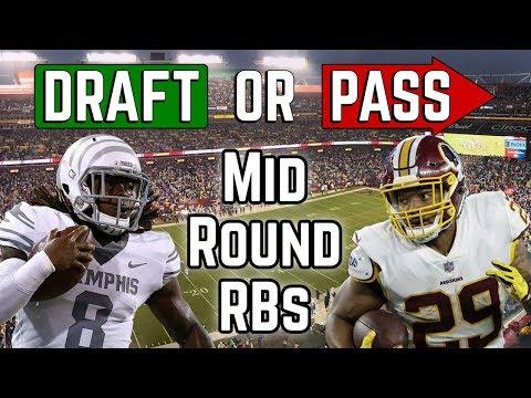 2019 Fantasy Football - Draft or Pass - Mid Round RBs