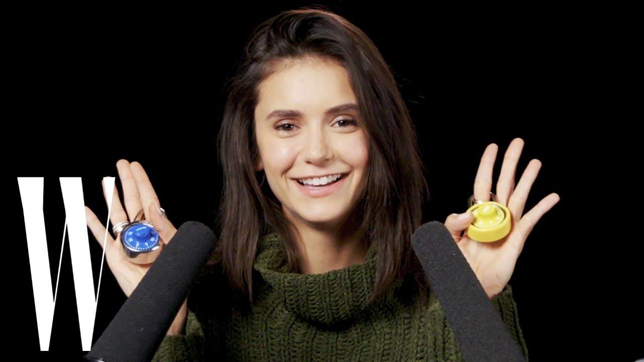 Nina Dobrev Explores ASMR | W Magazine