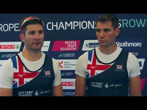 Jonny Walton & Graeme Thomas targeting men's quad gold at the European Championships