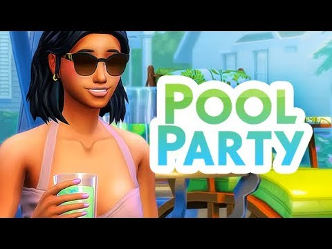 POOL PARTIES! 💦🌴 | THE SIMS 4 // MOD REVIEW thumbnail
