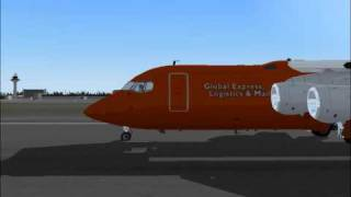 Fs2004 frankfurt airport landings