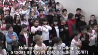 Colégio Olimpus - Homenagem Ao Dia Da  Vovó Parte 03