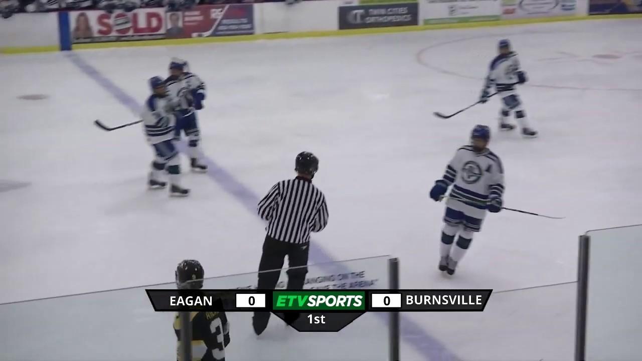 Eagan High School Boys Hockey vs Burnsville - Dec 4, 2018
