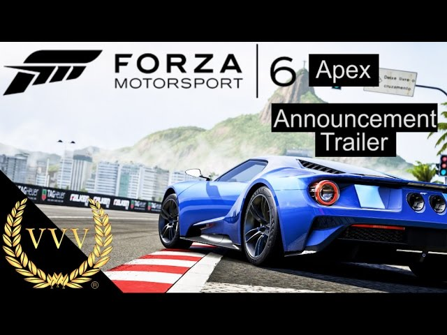 Forza Motorsport 6 Apex PC Trailer