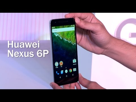 Huawei Nexus 6P First Impressions at Launch