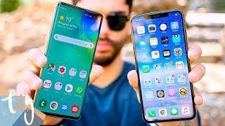 EL DUELO DEFINITIVO: Samsung Galaxy S10+ vs iPhone XS Max