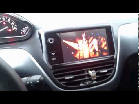 peugeot 208 wireless android smart box youtube. Black Bedroom Furniture Sets. Home Design Ideas
