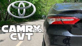 Вариатор и Камри - где 9.5 сек? Разгон Toyota Camry CVT
