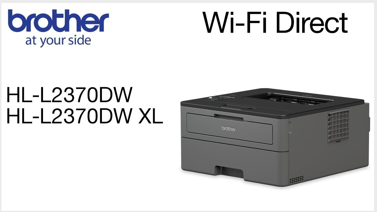 Connect to HLL2370DW with Wi-Fi Direct