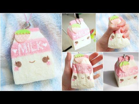 Homemade Squishy Tags : DIY Milk Carton Squishy! ~ Homemade Squishy Tutorial by Ketchupgiri - Watch and Free Download ...