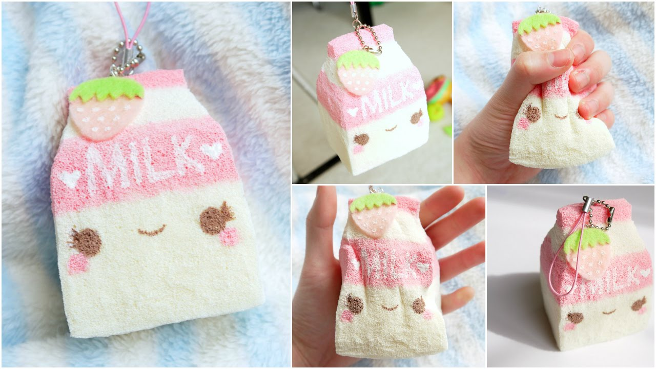 DIY Milk Carton Squishy! ~ Homemade Squishy Tutorial - YouTube