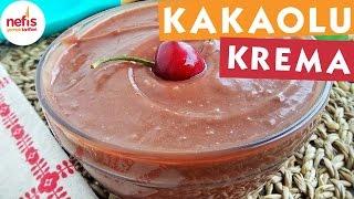 Kakaolu Çok Amaçlı Harika Krema - Çikolatalı Tarifler - Nefis Yemek Tarifleri