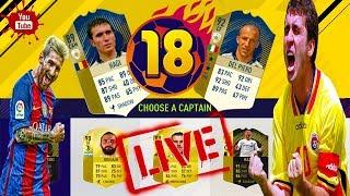 Livestream FIFA 18 FUT DRAFT - Sa Inceapa Nebuniaaaaa !!!