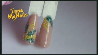 🌿Мимоза на ногтях🌿ВЕСЕННИЙ дизайн ногтей🌿Дизайн ногтей гель лаком🌿