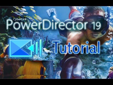 PowerDirector 19 - Tutorial for Beginners in 13 MINUTES! [COMPLETE]