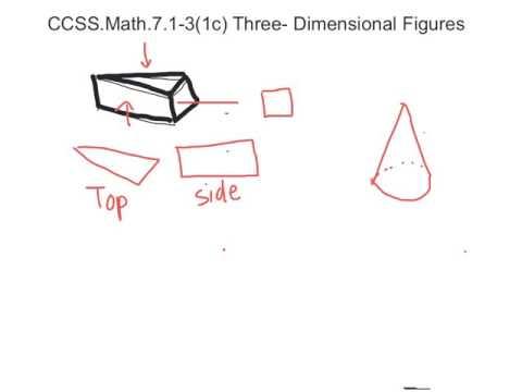 CCSS.Math.7.G.1-3 (1c) 3-D figures