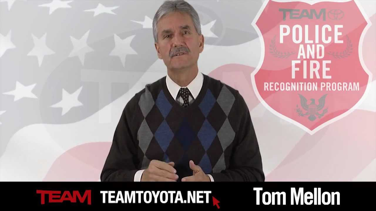 Tom Tommy Toyota Mellon Team Toyota Police Amp Fire