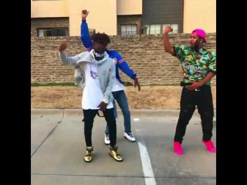 Black people dancing