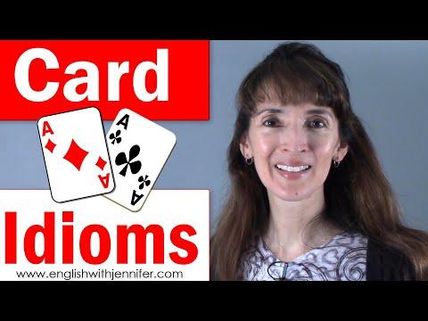 Card Idioms - English Vocabulary with Jennifer