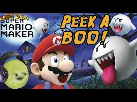 Gaming Grape Plays - Super Mario Maker: PEEK-A BOO! (Shocktober)
