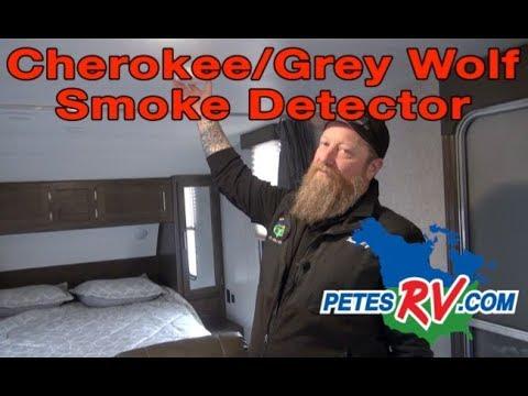 Pete S Rv Quick Tips Cherokee Grey Wolf Smoke Detector Youtube