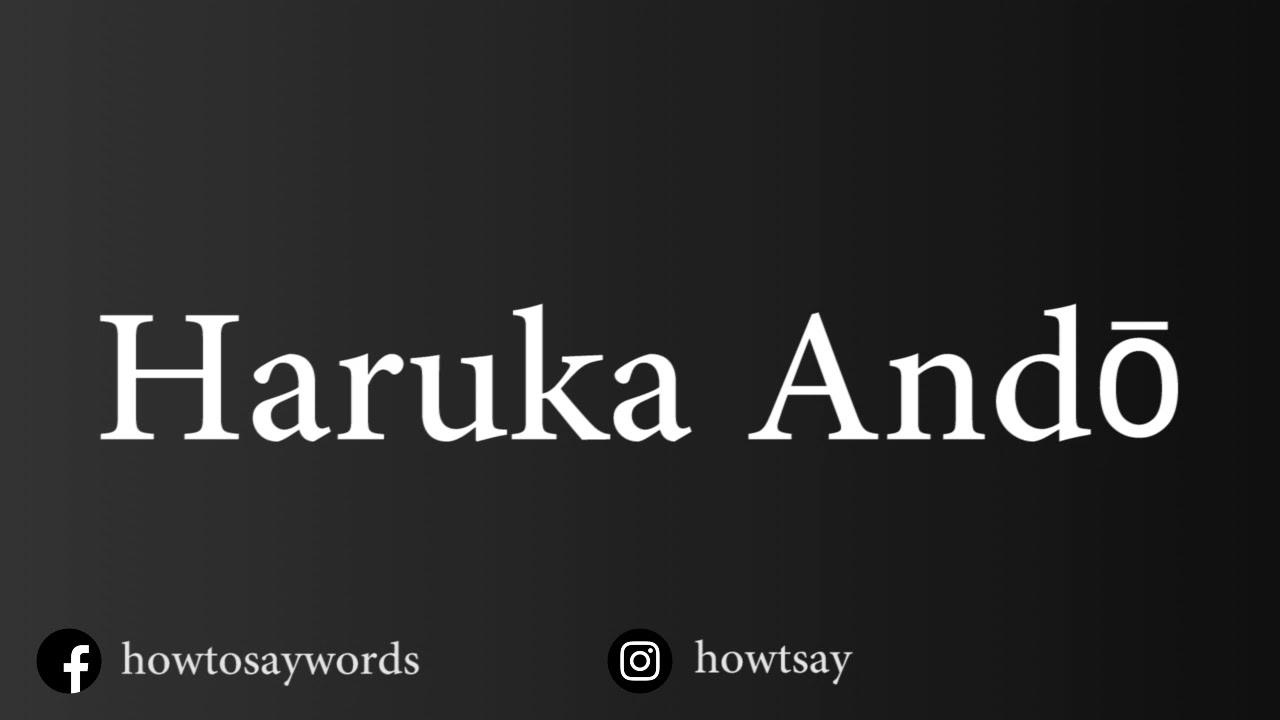 Haruka Andou
