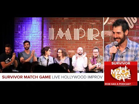 Survivor Match Game | LIVE At The Hollywood Impov | October 5, 2017