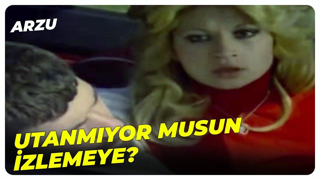 Arzu Türk Filmi - Arzu, Halil ile Aylin Uygunsuz Yakaladı! | Arzu Okay Eski Türk Filmi