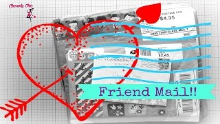 Friend Mail/Pocket letter Share!!  From Lisa Rose, Neyna Marie and Jenny IBDFM