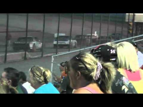 Route 66 Motor Speedway  StreetStock A-Main 7-21-12 part2