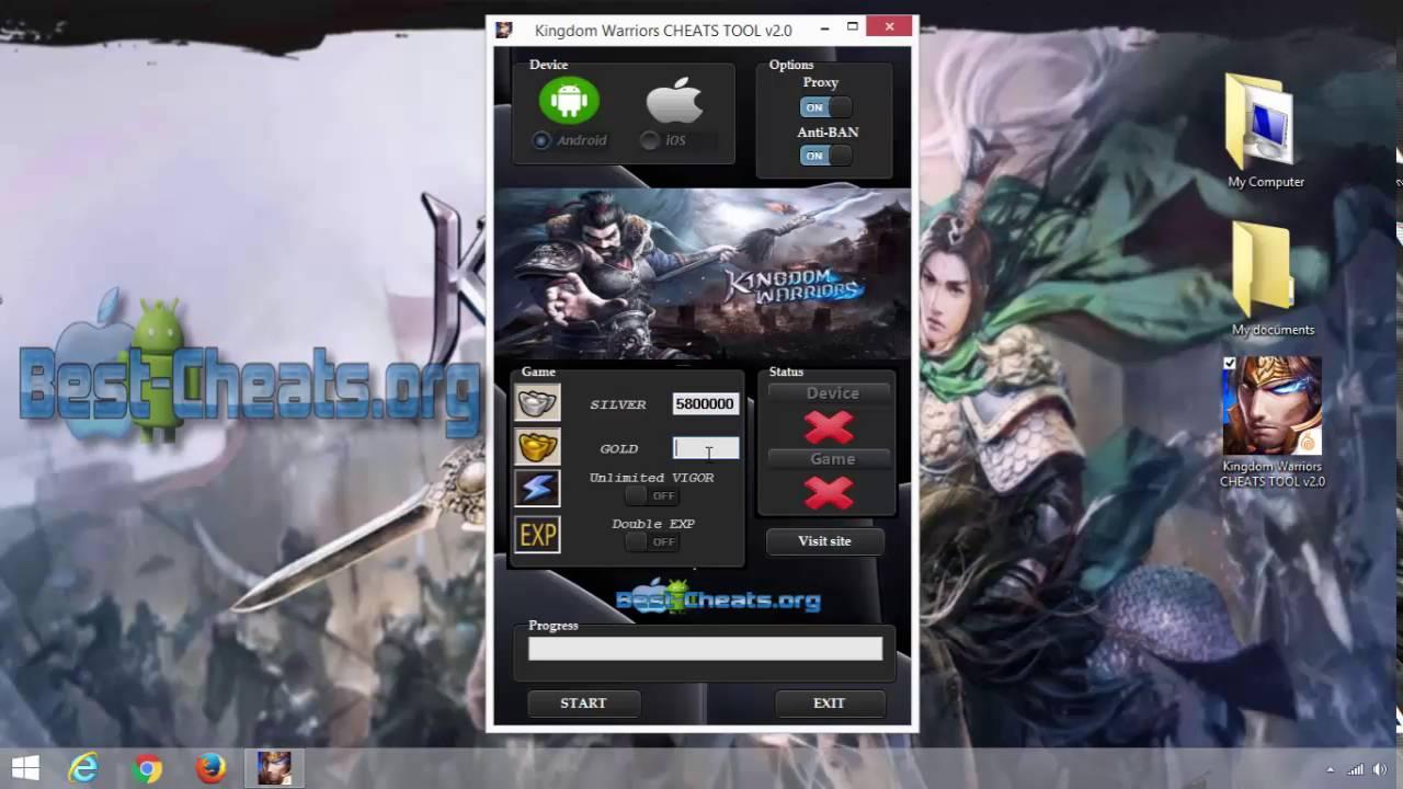 Kingdom Warriors Cheats Tool V2 0 Ios And Android Youtube