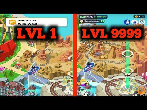 Idle Theme Park Tycoon - Unlocked Desert Island & Wild West