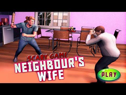 My Neighbor Scary Wife Prank -Part 1-Gameplay - Walkthrough [Android -ios]