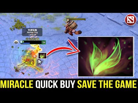 Miracle Show Us How Quick Buy Can Save The Game - Monkey King 7.21